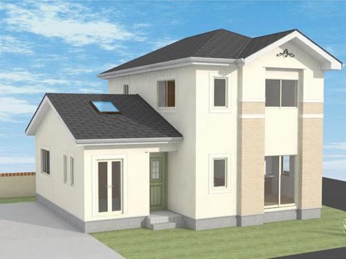 お客様のご要望を叶えたGLホームの自由設計シンプルモダン住宅