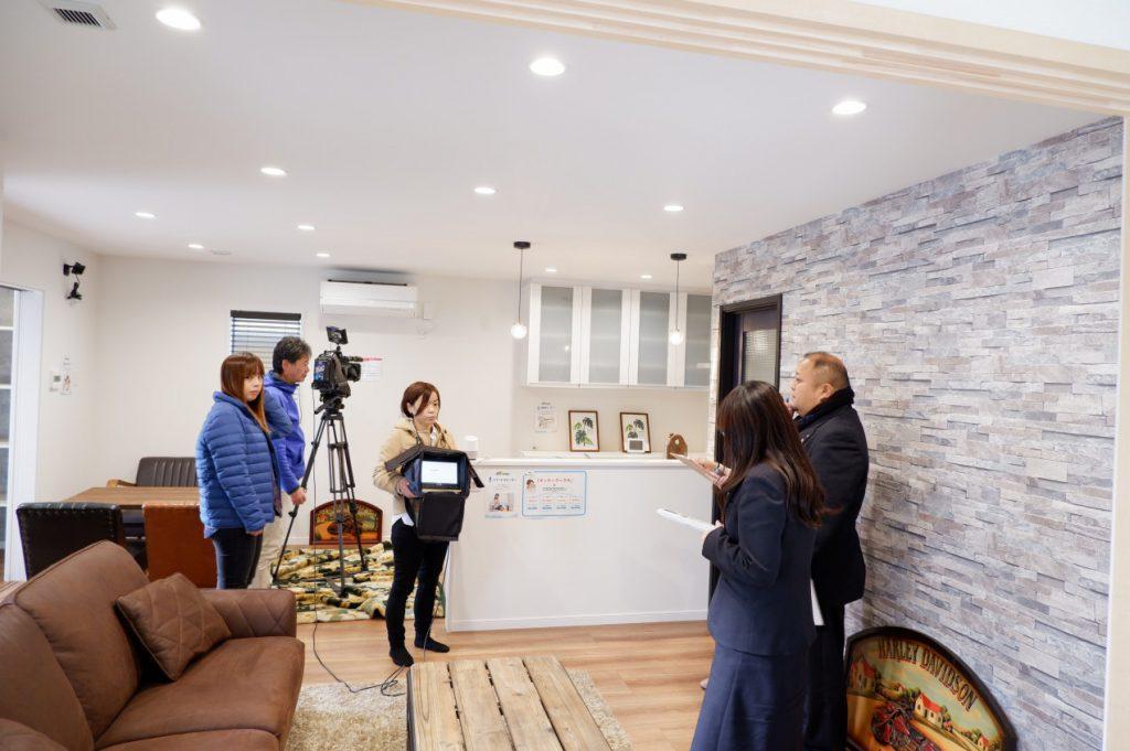 IoTを搭載した飯盛モデルハウスがFTV福島テレビで紹介されます!