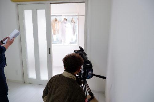 """「全館空調""""常春""""モデルハウス」でTVの撮影が行われました♪☆\(^0^\)"""