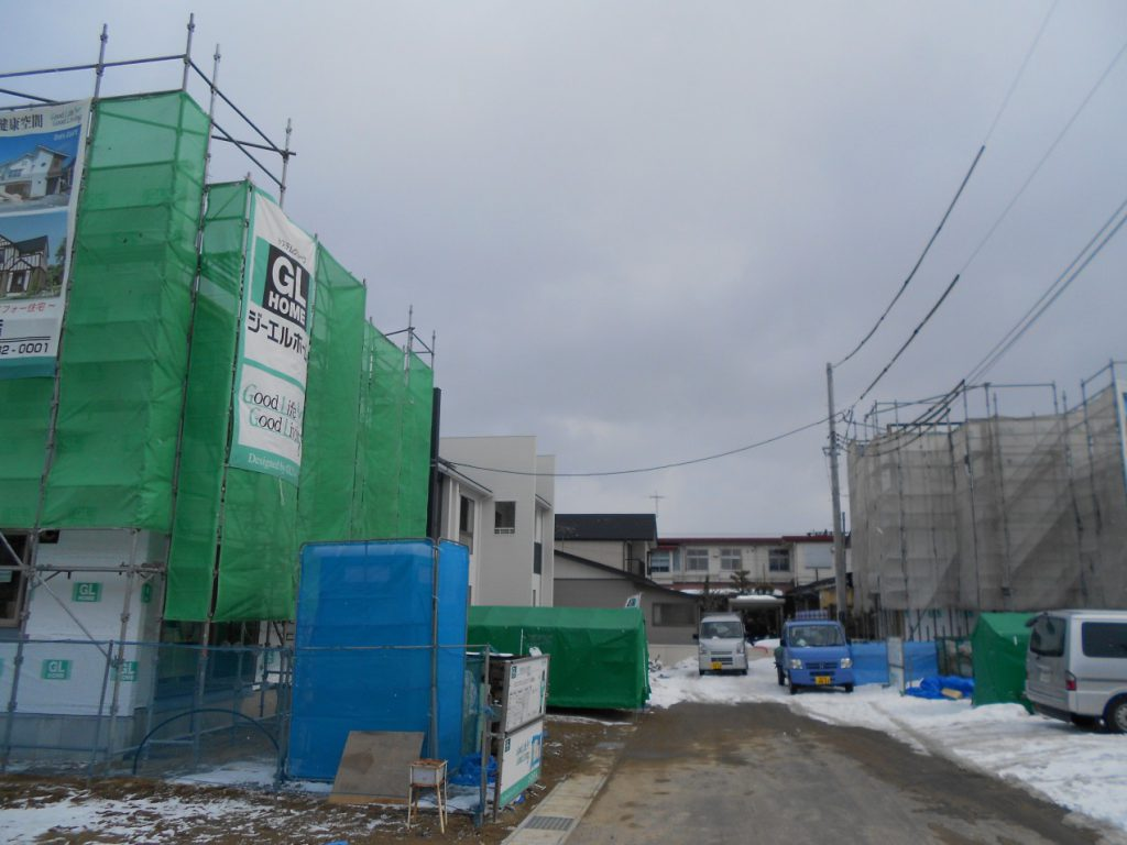 石堂町No2モデルハウス上棟!